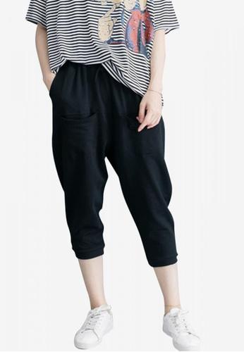Lara black Women's Relax Fit Pants D3C45AA062D2AFGS_1