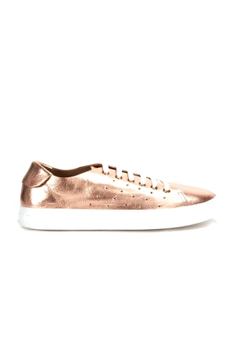 Shu Talk gold DARKWOOD Metallic Chic Comfortable Cusioning Sneakers 1D794SHA68EA6EGS_1