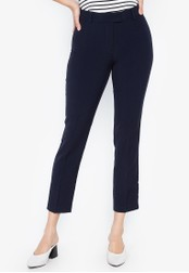 DEBENHAMS navy The Collection Petite - Principles Collection Petite Slim Leg Trouser 6AFC2AA0742F06GS_1