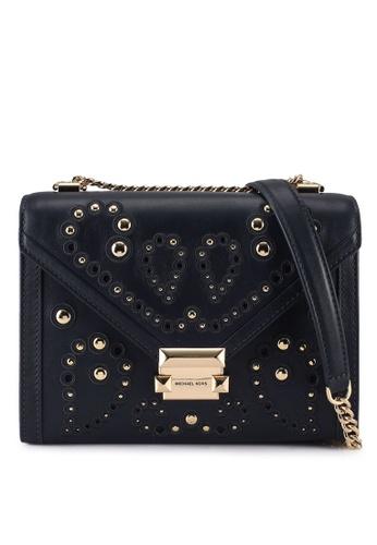 MICHAEL KORS black Whitney Shoulder Bag (nt) 26032ACE3E7425GS_1