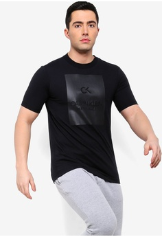 3c59bed762ed2 Calvin Klein black Billboard Tee - Calvin Klein Performance  034C1AAB856C02GS 1