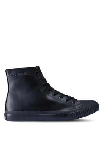 Calvin Klein black Icaro Sneakers F080CSHB7E63FBGS_1