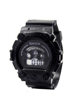 Andy Unisex Silicone Strap Sports Watch