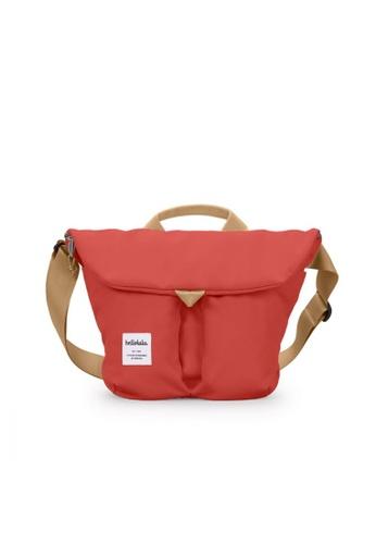 Hellolulu red Hellolulu Kasen Shoulder Bag (Pomegranate) A31FFAC8D7BFDBGS_1