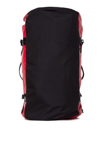 The North Face black and red Base Camp Duffel Bag - Large TH803AC0J2VDPH_1