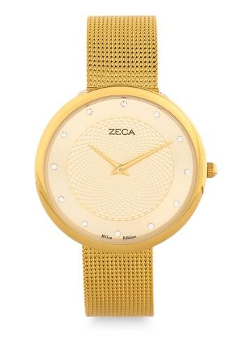 ZECA gold Zeca Watches Man Fashion - 1001L(3) Gold FD522ACDBDB1ECGS_1