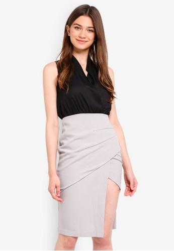 Megane black Essential Tangela Dress 4E5D0AA3190EC5GS_1