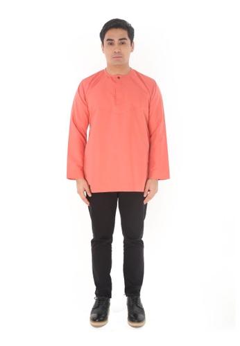 Amar Amran orange Kurta Al Amin 2.0 99C33AABB21443GS_1