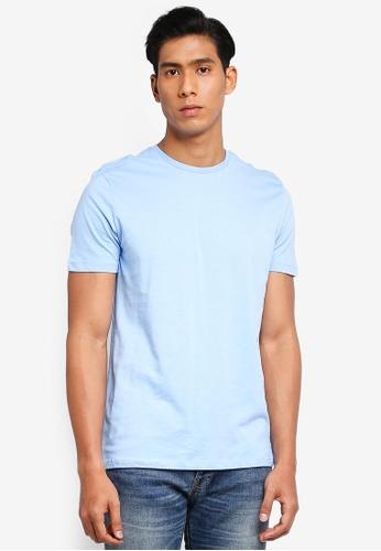OVS 藍色 基本T恤 ABEECAA6A909E3GS_1