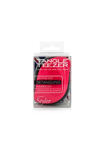 Tangle Teezer TANGLE TEEZER - Compact Styler On-The-Go Detangling Hair Brush - # Pink Sizzle 1pc 78DF9BE18A48FFGS_1