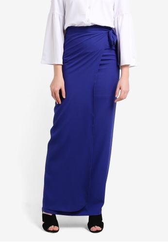 BYN blue Pario Skirt BY059AA0RRR7MY_1