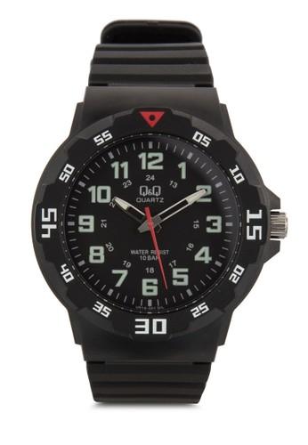 VR18J001Y 數字顯示橡膠手錶, 錶類, 飾esprit 西裝品配件