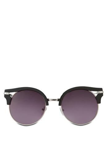 Chearwen 半粗貓眼太陽眼鏡, 飾品配件zalora 心得, 貓眼框