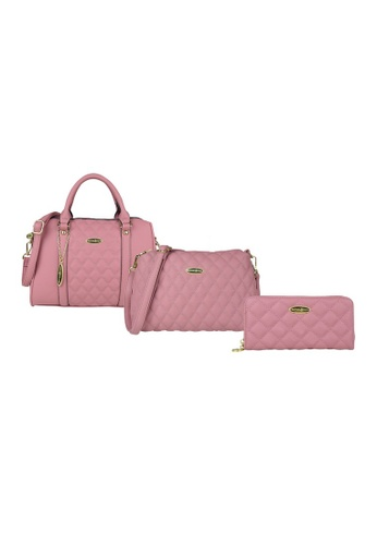 British Polo pink British Polo Value 3 in 1 Classic Set EBA12ACE6B5838GS_1