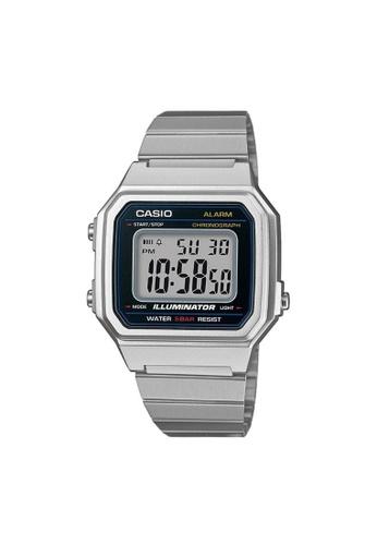 Casio silver CASIO GENERAL B650WD-1ADF UNISEX'S WATCH BA2CBACE99AF41GS_1