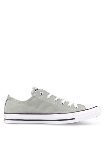 Converse grey Chuck Taylor All Star Ox Sneakers CO302SH0SW6CMY_1