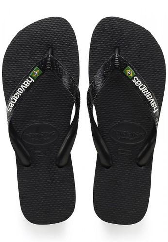 Havaianas black Brasil Logo 1069 80F0ASHF381B23GS_1