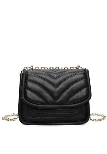 Milliot & Co. black Winni Shoulder Bag A8A6EACD2282EBGS_1