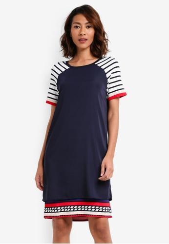 Desigual blue Evocative Dress CD5FCAA19D7ECFGS_1