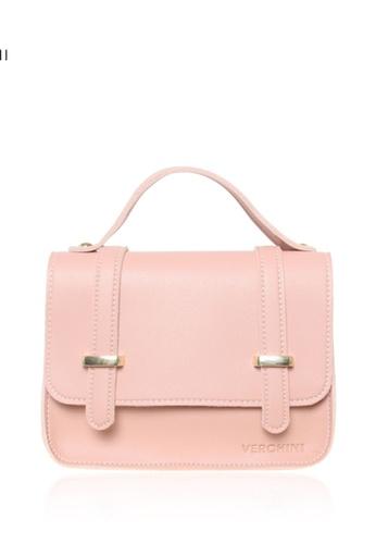 Verchini pink Verchini Small Top Handle Sling Bag 809C1AC0452C75GS_1