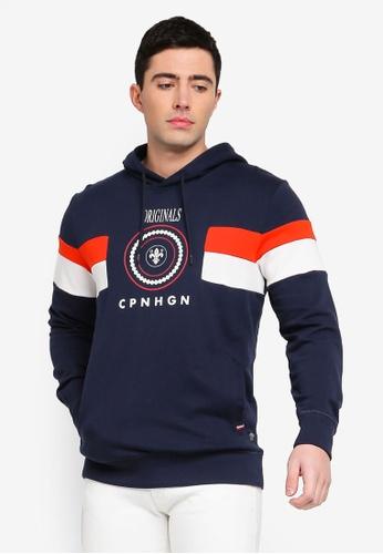 f568738a3fc404 Shop Jack   Jones Jorvoyage Hooded Pullover Online on ZALORA Philippines