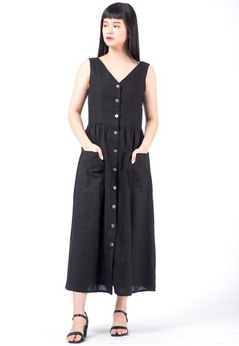 Simplify black Leia Dress Black CA0EEAAC002417GS_1