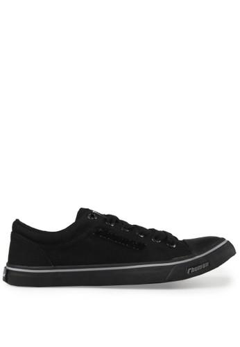Rhumell black Flute Sneakers RH743SH79DZOID_1
