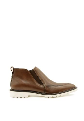 Ftale Footwear brown Ftale - Oswald Patina Cuoio 46F65SH4537BFBGS_1