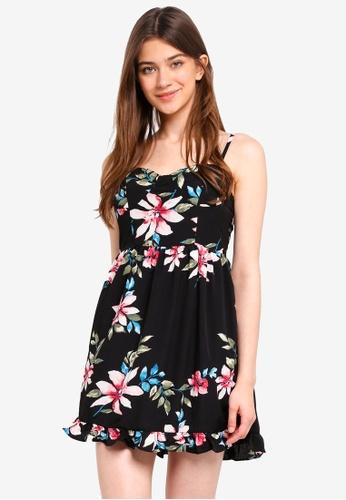 Something Borrowed black Bustier Panelled Dress B7952AAE97ECE2GS_1