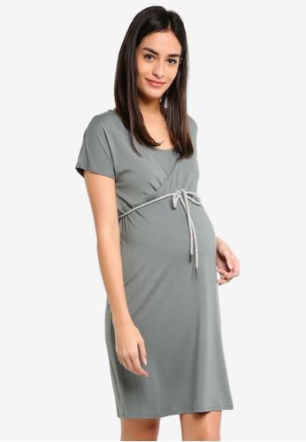 Noppies green Maternity Beitske Nursing Dress 9E998AAE71CBDCGS_1