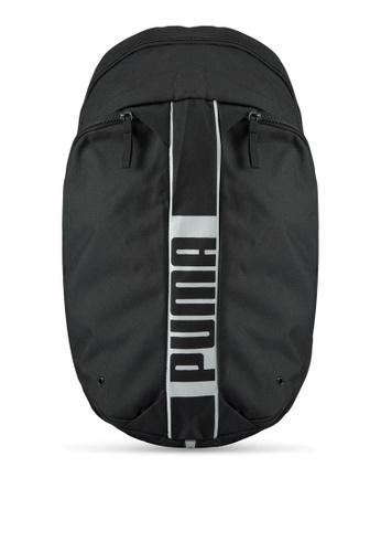 Puma black Puma Deck Backpack PU549AC0SWCFMY_1