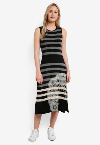 Desigual black Alara Dress DE160AA0RF7FMY_1