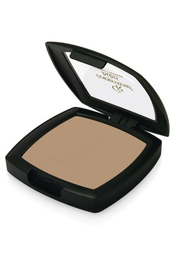 GOLDEN ROSE yellow PARIS COMPACT POWDER - #62 GO743BE01FLYMY_1