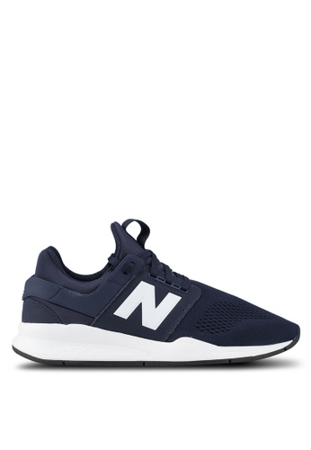 New Balance navy 247 Lifestyle Classic Shoes 78112SHC066569GS_1