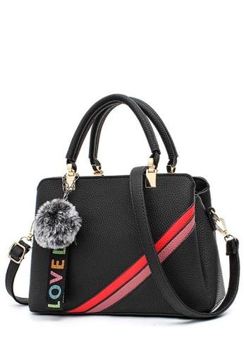 TCWK black TCWK Korea Style Black Ladies Handbag TC258AC0SKYGMY_1