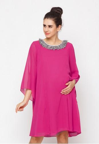 Chantilly pink Maternity Dress 51030 528F1AAFFD0F40GS_1