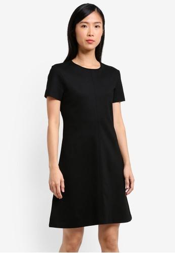 Mango black Short Sleeved Dress MA134AA0JJKLPH_1