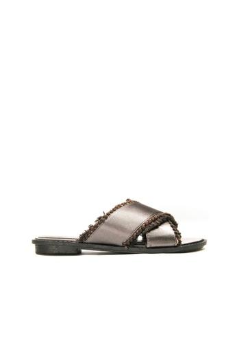 SEMBONIA grey SEMBONIA Flats Shoe (Grey) 1BDA5SH4B73050GS_1