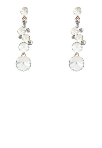 Diamante Dangle Earrings, 韓系時尚, esprit暢貨中心梳妝