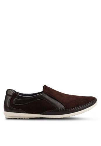 Rocklander brown Matarazo Loafers 5B622SH2517E3FGS_1