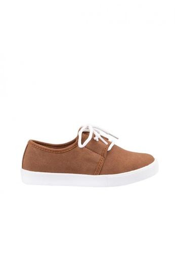 Meet My Feet brown Meet My Feet David (Boys Kids Sneakers) E7F41KS25F8752GS_1