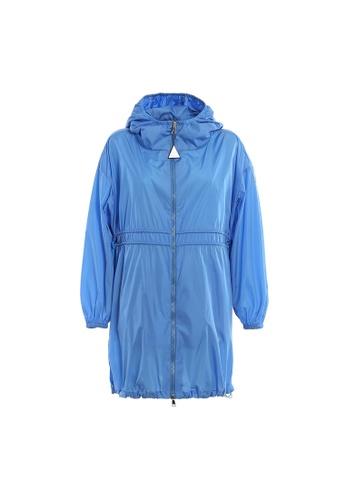"""Moncler blue Moncler """"Lichen"""" Windbreaker in Blue 2B621AA6034A6CGS_1"""