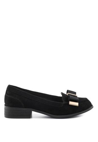 London Rag 黑色 London Rag 女士黑色金属饰片单鞋 450F4SH6DD0505GS_1