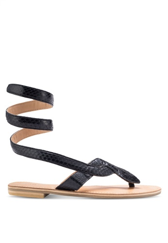 Sulima black Athena Sandals SU915SH66VPDMY_1
