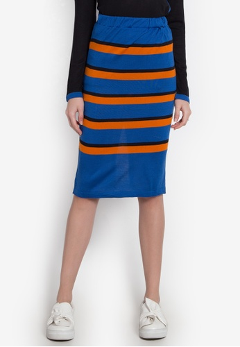 Chloe Edit multi Striped Skirt CH672AA0JZC3PH_1