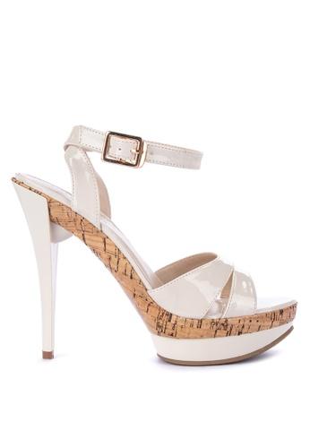 67396cbe4d1 Shop Gibi Ankle Strap High Heels Online on ZALORA Philippines