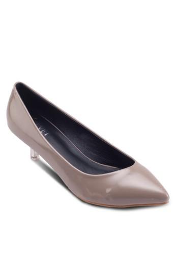 Isabelle Stiletto Kitten Heels, 女鞋, 厚底高zalora 衣服評價跟鞋