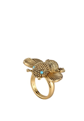 kate spade new york gold All Abuzz Bee Ring (cv) 21FF4ACC75AD83GS_1