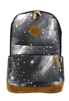 Fashionable Trendy Printed Outer Space Travel School Backpack