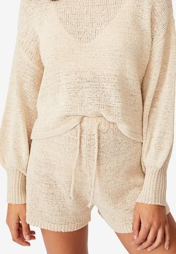Cotton On Body beige Summer Lounge Shorts 78293AA590219BGS_1
